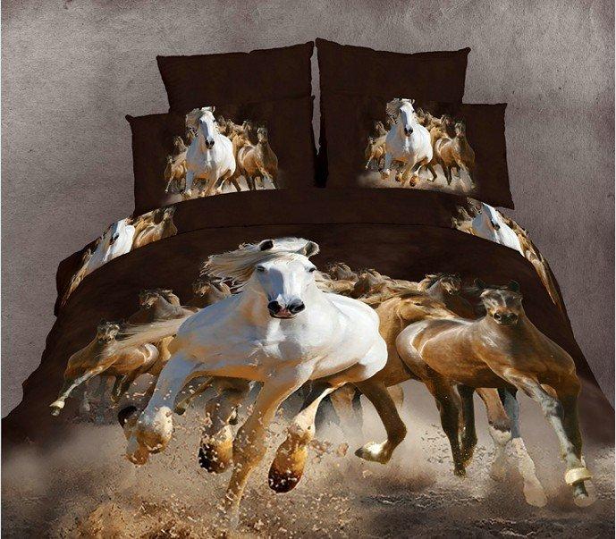 Beautiful horse beds pets lovers - Housse de couette motif cheval ...
